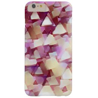Capas de iphone cor-de-rosa dos triângulos