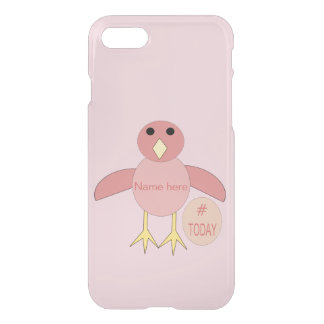Capas de iphone cor-de-rosa feitas sob encomenda