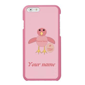 Capas de iphone cor-de-rosa feitas sob encomenda capa carteira incipio watson™ para iPhone 6