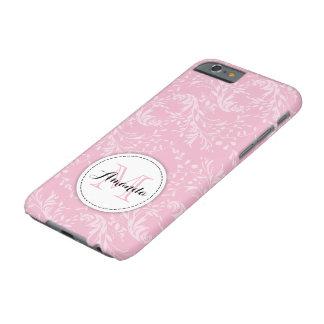 Capas de iphone cor-de-rosa florais do damasco do
