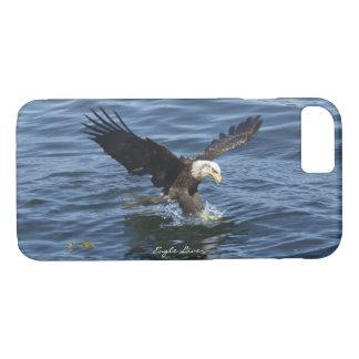 Capas de iphone da águia americana & do rio da