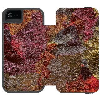 Capas de iphone da arte abstracta capa carteira incipio watson™ para iPhone 5
