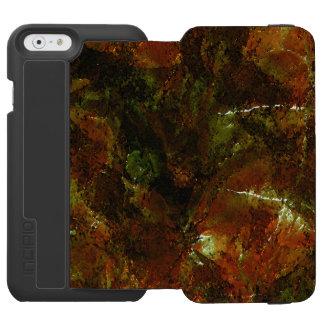 Capas de iphone da arte abstracta capa carteira incipio watson™ para iPhone 6