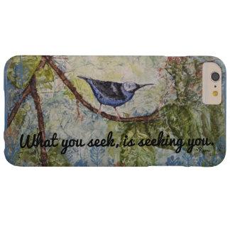 Capas de iphone da arte da aguarela do pássaro das