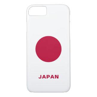 Capas de iphone da bandeira de Japão