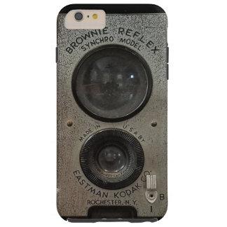 Capas de iphone da câmera da brownie do vintage