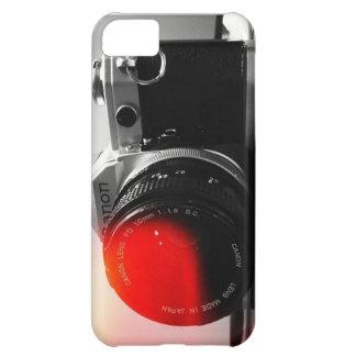 Capas de iphone da câmera do vintage capa para iPhone 5C