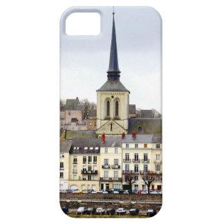 Capas de iphone da cena do banco de rio de Saumur
