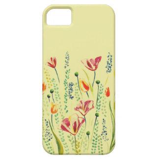 Capas de iphone da flor selvagem capa barely there para iPhone 5