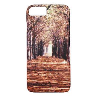 Capas de iphone da floresta dos pinheiros da