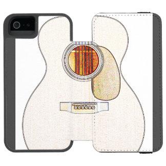 Capas de iphone da guitarra acústica