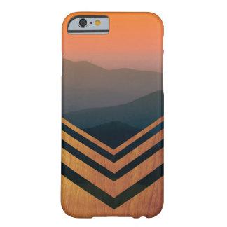 Capas de iphone da opinião da madeira e do por do