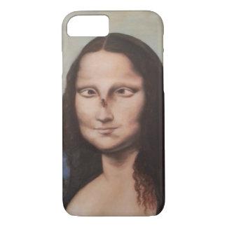 Capas de iphone da paródia de Mona Lisa