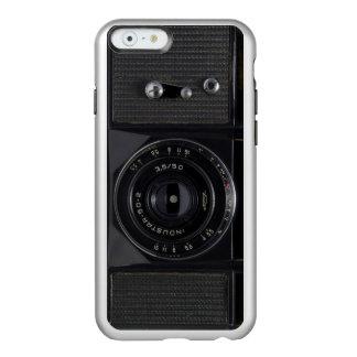 Capas de iphone da prata da CÂMERA do VINTAGE do Capa Incipio Feather® Shine Para iPhone 6