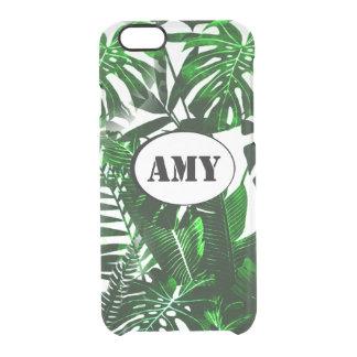 Capas de iphone das folhas de palmeira do