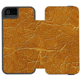 Capas de iphone de couro de Tan