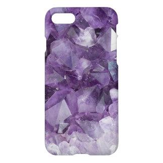 Capas de iphone de cristal roxas