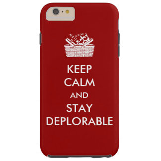 Capas de iphone de Deplorables