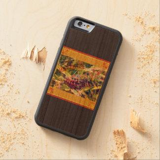 Capas de iphone de madeira do paraíso do abacaxi