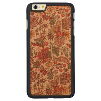 Capas de iphone de madeira florais de Boho Paisley