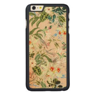 Capas de iphone de madeira florais de Boho Tropico