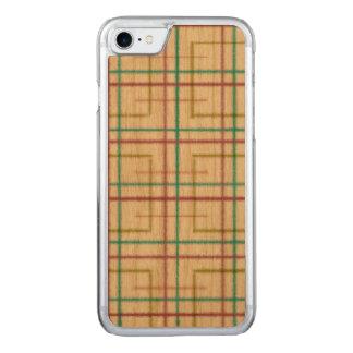 Capas de iphone de madeira, quadrado, iPhone da