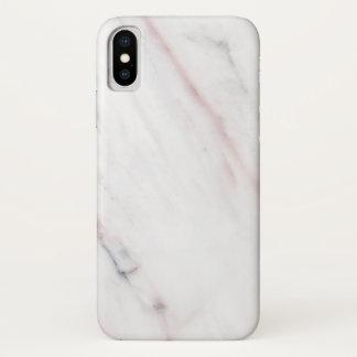 Capas de iphone de mármore brancas e cor-de-rosa