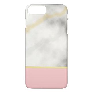 Capas de iphone de mármore com um toque dourado
