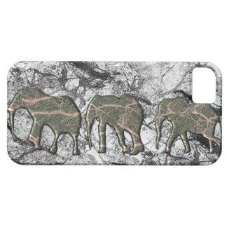 Capas de iphone de mármore do rebanho do elefante