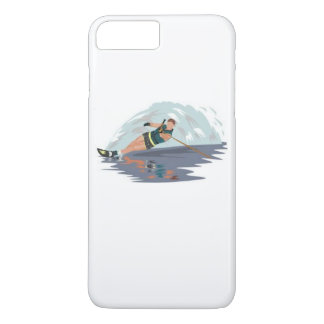 Capas de iphone de Waterski do slalom