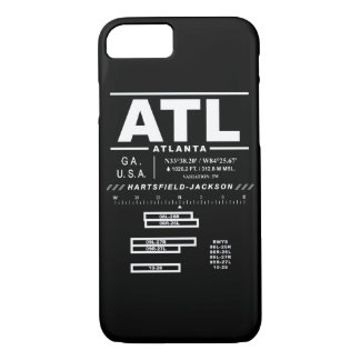 Capas de iphone do aeroporto internacional ATL de