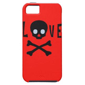 Capas de iphone do amor, do Sulls, e dos ossos Capa Tough Para iPhone 5