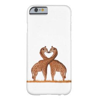 Capas de iphone do amor dos girafas