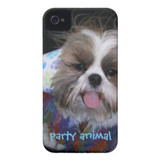 Capas de iphone do animal de partido capinhas iPhone 4