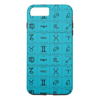 capas de iphone do azul do aqua do horóscopo do