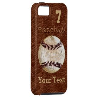 Capas de iphone do basebol com SEUS NÚMERO e NOME
