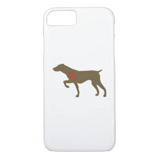 Capas de iphone do cão do logotipo de