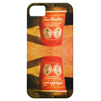 Capas de iphone do copo de Tim Hortons