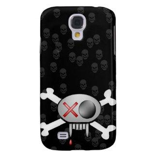 Capas de iphone do crânio e dos ossos capas samsung galaxy s4