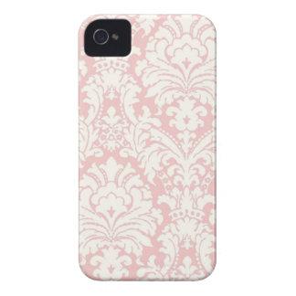 Capas de iphone do damasco de Pink&White
