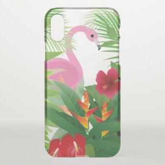 capas de iphone do defletor das palmas do flamingo