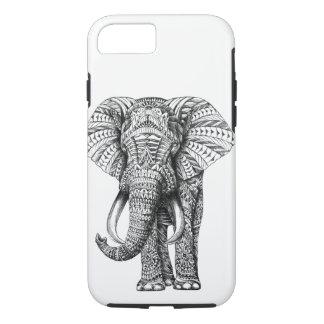 Capas de iphone do elefante da mandala