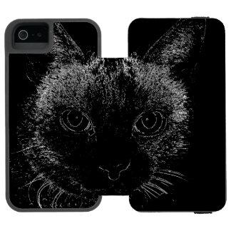 Capas de iphone do gato preto