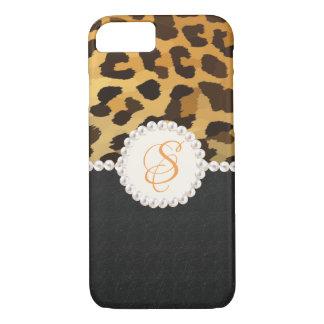 Capas de iphone do impressão do leopardo do