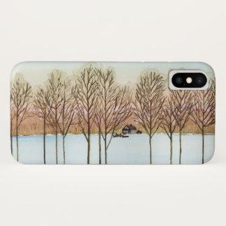 Capas de iphone do lago winter