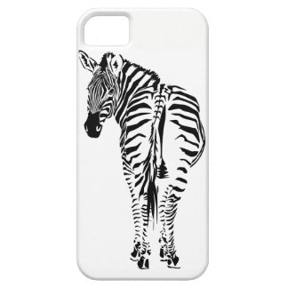 Capas de iphone do retrato da zebra