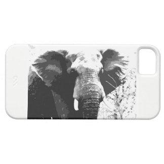 Capas de iphone do retrato do elefante