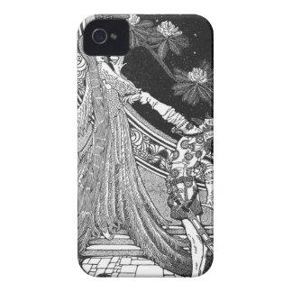 Capas de iphone do romance da fantasia capas para iPhone 4 Case-Mate