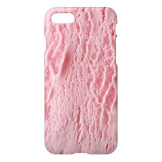 Capas de iphone do sorvete da morango