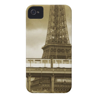Capas de iphone do vintage da torre Eiffel Capa Para iPhone 4 Case-Mate